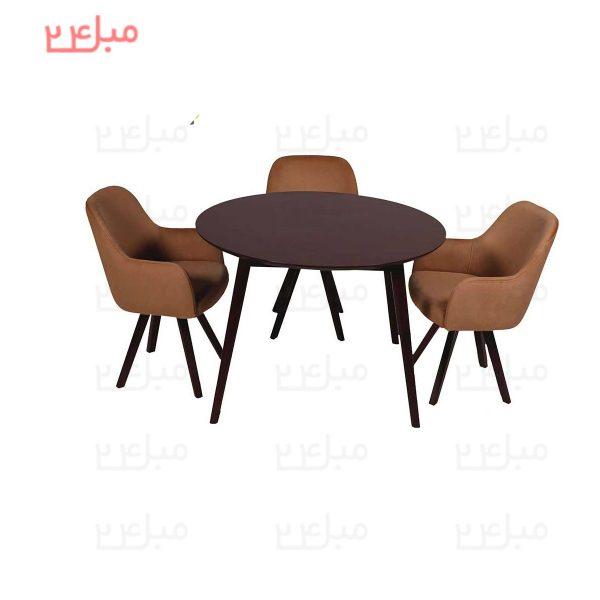 میز و صندلی نهارخوری 4 نفره مدل : پامچال