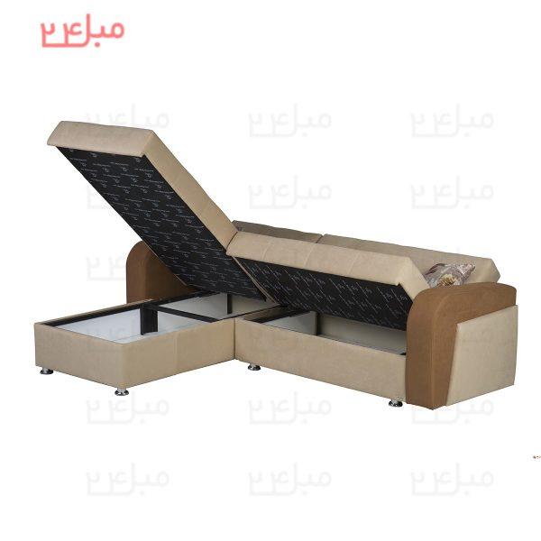 مبل ال تختخواب شو ( تخت شو ) یک نفره مدل LD22