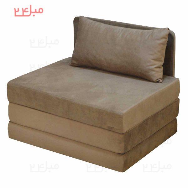 مبل تختخواب شو ( تخت شو )یک نفره کد:A20
