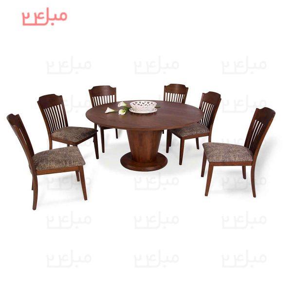 میز و صندلی نهارخوری 6 نفره مدل : اونیکس و هالیت