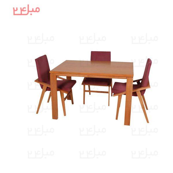 میز و صندلی نهارخوری 4 نفره مدل : آرنیکا و یاس