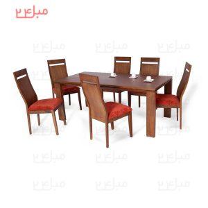 میز و صندلی نهارخوری 6 نفره مدل : آرنیکا و میکا