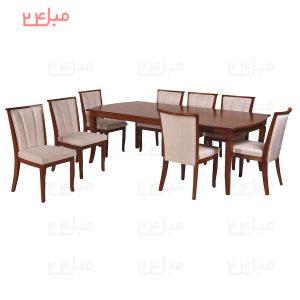 میز و صندلی نهارخوری 8 نفره مدل : چاتانا و ژاسمین