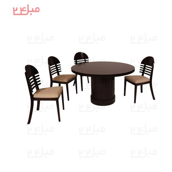 میز و صندلی نهارخوری 4 نفره مدل : شرمن