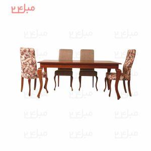میز و صندلی نهارخوری 4 نفره مدل :لیما و نازنین