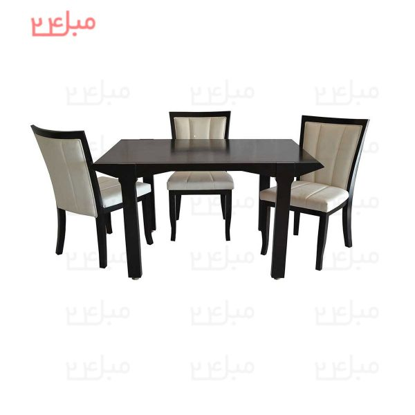 میز و صندلی نهارخوری 4 نفره مدل : گارنت و ژاسمین
