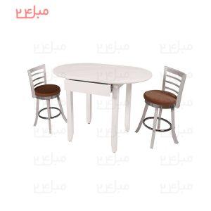 میز و صندلی نهارخوری 2 نفره مدل :آندمان و اوپال