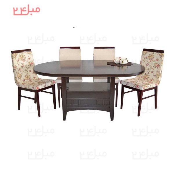 میز و صندلی نهارخوری 4 نفره مدل : گراندیس و فلورینا