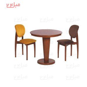 میز و صندلی نهارخوری 2 نفره مدل : اونیکس و توپاز