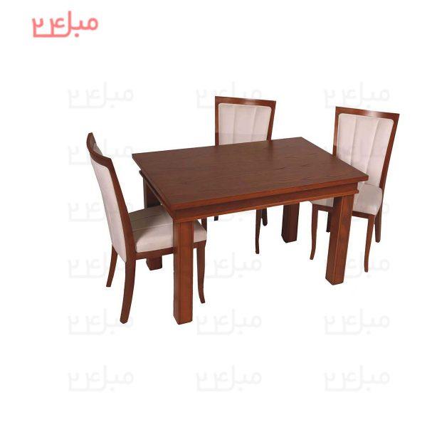 میز و صندلی نهارخوری 4 نفره مدل : الیزابت و ژاسمین