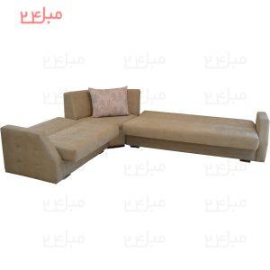 مبل ال تختخواب شو ( تخت شو ) یک نفره مدل L24