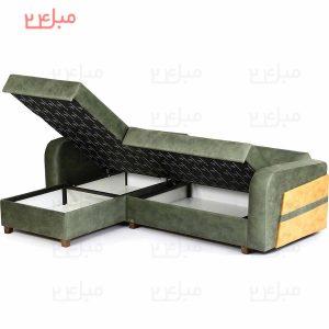 مبل ال تختخواب شو ( تخت شو ) یک نفره مدل:Ldp22