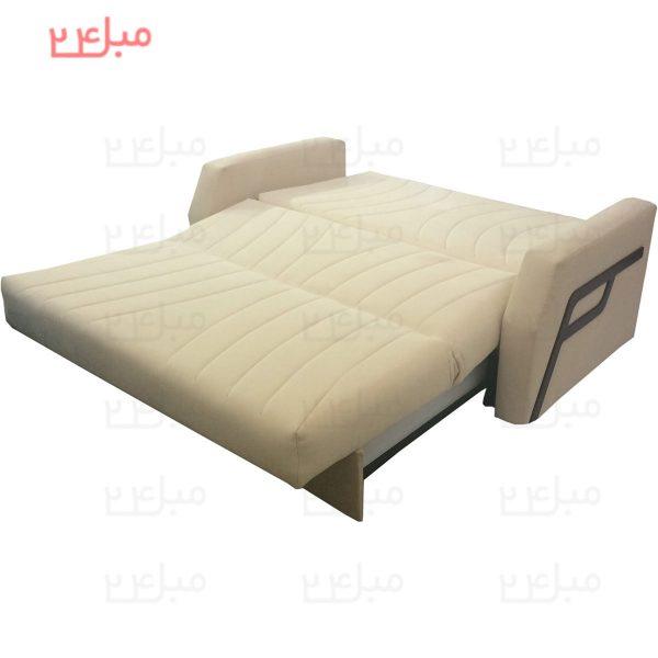 کاناپه تختخواب شو ( تخت شو ) دو نفره مدل : V22N