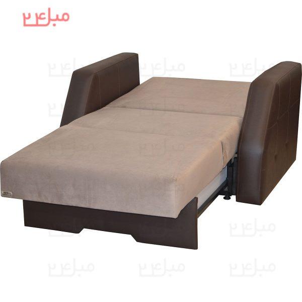 مبل تختخواب شو ( تخت شو ) یک نفره مدل V14