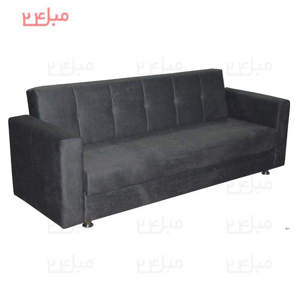 کاناپه تختخواب شو ( تخت شو ) یک نفره مدل B12