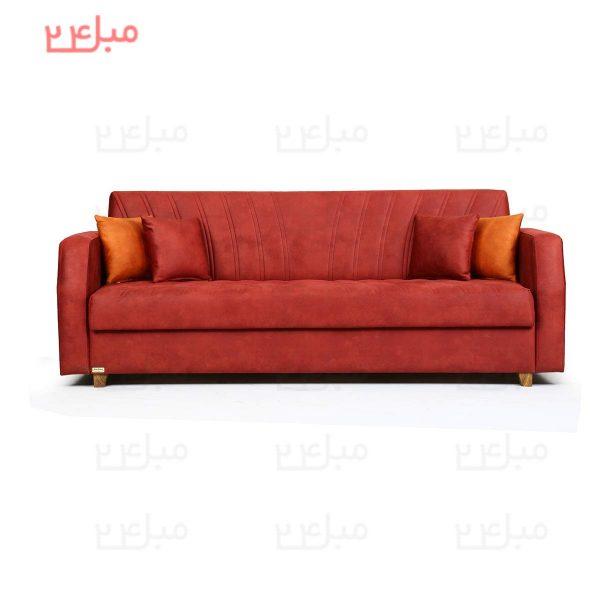 کاناپه تختخواب شو ( تخت شو ) یک نفره مدل B12N
