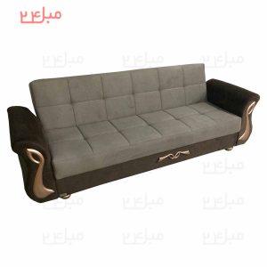 کاناپه تختخواب شو ( تخت شو ) یک نفره مدل B13N