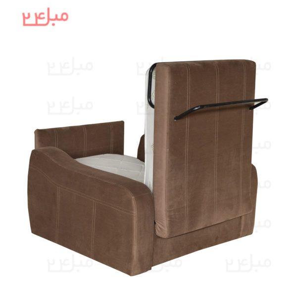 مبل تختخواب شو ( تخت شو ) یک نفره مدل : UN11