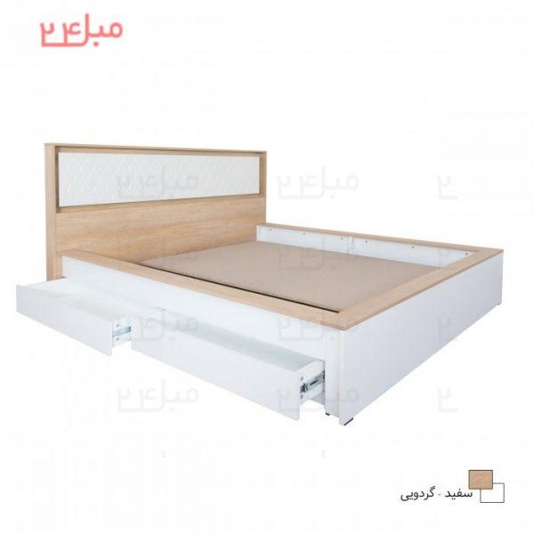 تخت خواب دو نفره مدل DH23