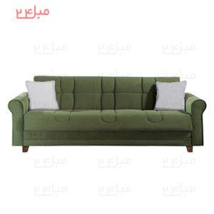 کاناپه تختخواب شو ( تخت شو ) یک نفره مدل : nb13