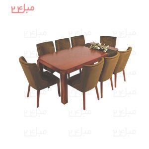 میز و صندلی نهارخوری 6 نفره مدل : راوینا و چاتانا